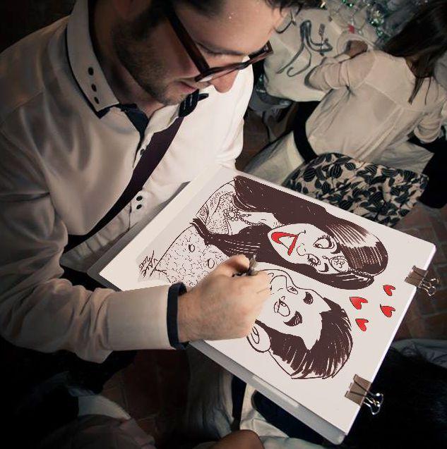 Super Caricature Sposi: Idee per un matrimonio originale KG09