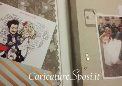 album-matrimonio-personalizzato-caricatura-sposi_valentino-villanova-400x284 Partecipazioni nuziali con caricatura