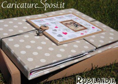 beautiful-wedding-album-matrimoniorobilandia-caricatura_valentino-villanova-400x284 Partecipazioni nuziali con caricatura
