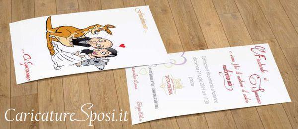 beautiful-wedding-invito-canguro-australia-romantic-caricatura_valentino-villanova Partecipazioni nuziali con caricatura