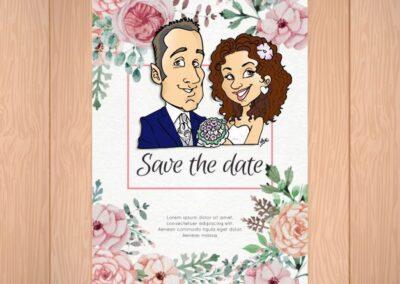 beautiful-wedding-invito-dei-fiori-ad-acquerello-caricatura_valentino-villanova-400x284 Partecipazioni nuziali con caricatura
