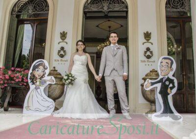 sagome-personalizzate-beautiful-happy-caricatura-sposi_valentino-villanova-400x284 Partecipazioni nuziali con caricatura