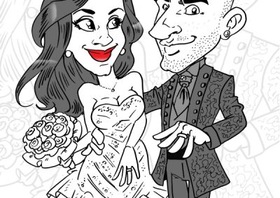 caricatura-sposi-matrimonio-elegante-romantico-personalizzata_valentino-villanova-400x284 Caricature degli sposi da foto