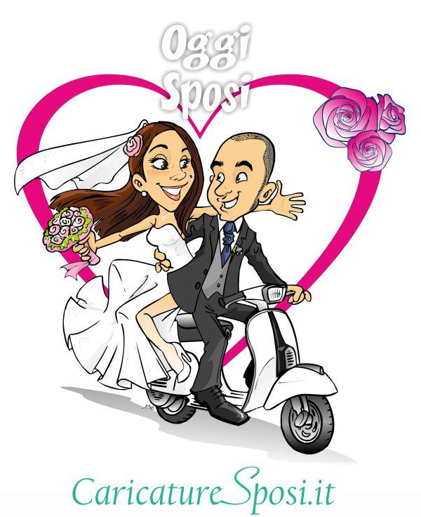 Vignette sposi divertenti al16 regardsdefemmes for Sposi immagini