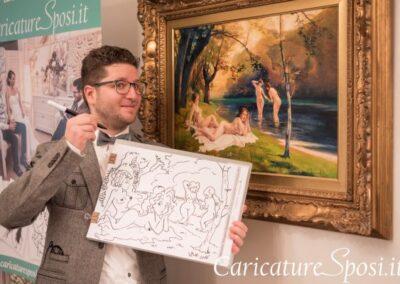 valentino-villanova-caricature-intrattenimento-artista-arte-400x284 Caricature al Matrimonio