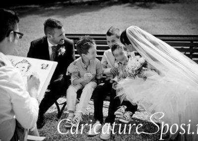 valentino-villanova-caricature-intrattenimento-coppia-bambini-matrimonio-400x284 Caricature al Matrimonio