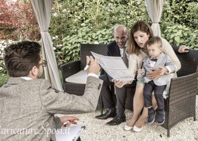 valentino-villanova-caricature-intrattenimento-coppia-bambino-matrimonio-400x284 Caricature al Matrimonio